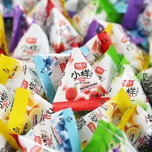 好彩头小样酸Q糖水果汁软糖礼盒袋装结婚庆喜糖果散装零食批发