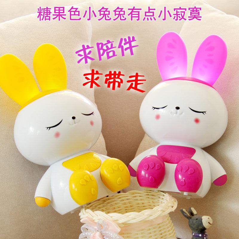 婴幼儿童小白兔子早教故事机益智可充电宝宝玩具音乐不倒翁果果兔