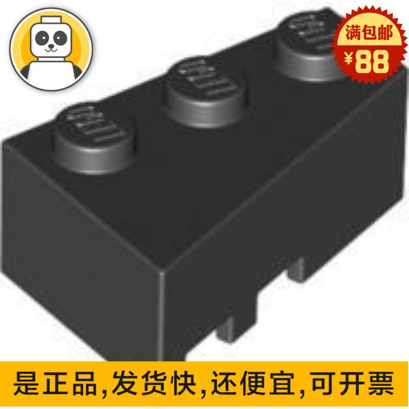 乐高LEGO积木 6564 三角转角楔形砖 黑色