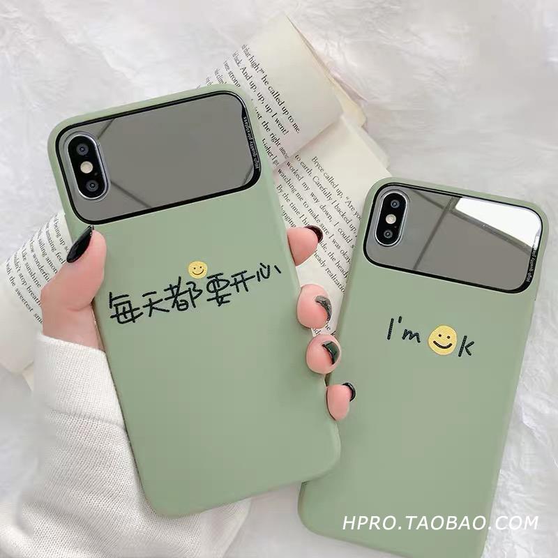 每天都要开心11Pro/Max苹果X/XS/XR手机壳iPhone6s/8plus/7女6p套