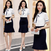 Professional Attitude Goddess Fan Manager's Workwear Fashion Korean Edition Skillful Summer Interview Suit Female High-end Thin Style