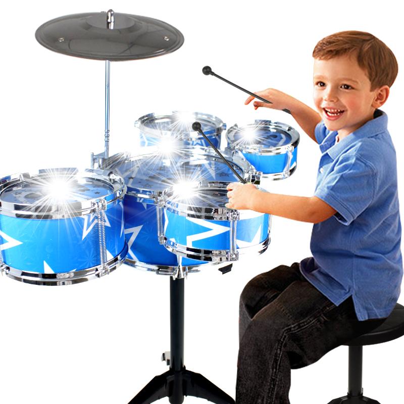 兒童架子鼓爵士鼓寶寶手拍鼓音樂拍拍鼓早教益智寶寶玩具1~3~6歲