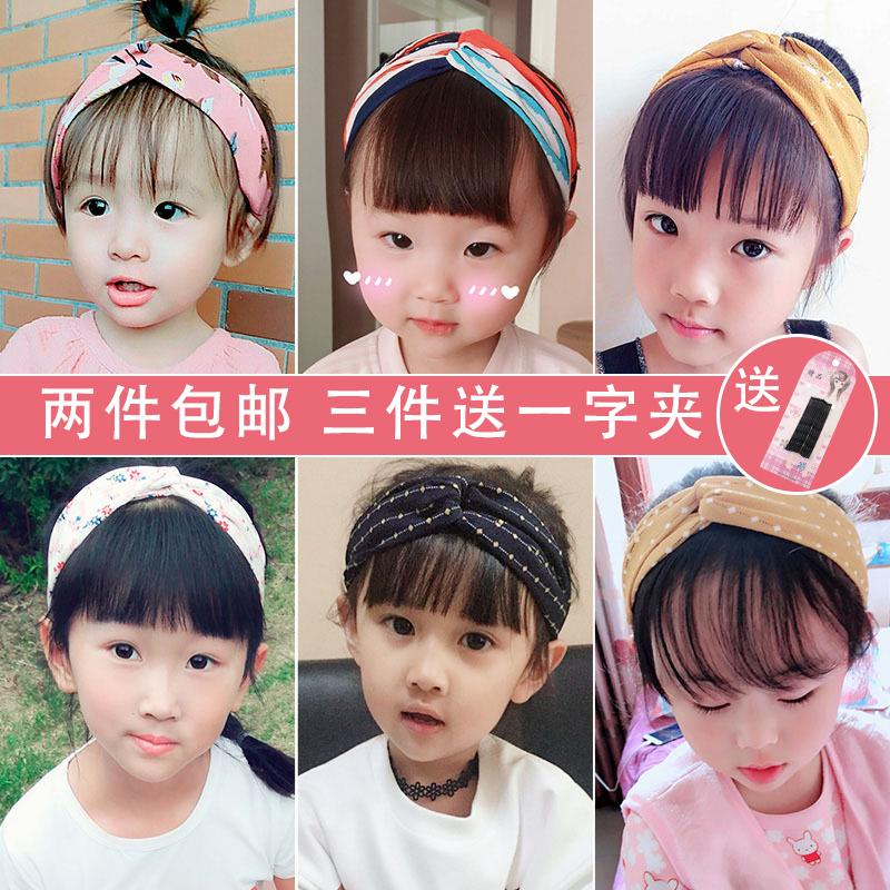 韩国女童公主小女孩发带女宝宝婴儿甜美可爱发箍百搭潮妞儿童发饰