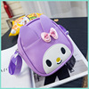 2017 new fashion Korean version of the cartoon cute bow children's school bags of children in kindergarten backpack messenger bag