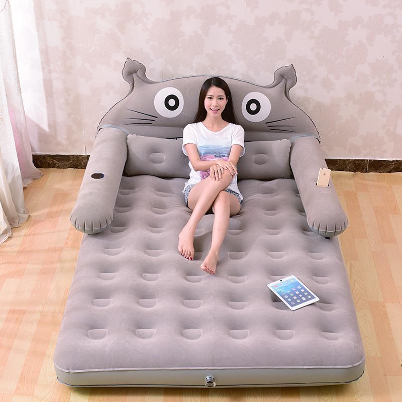Мультики шиншилла надувной двойной татами домой сложить бездельник воздушная подушка лист человек земля магазин полдень остальные кровать толстый