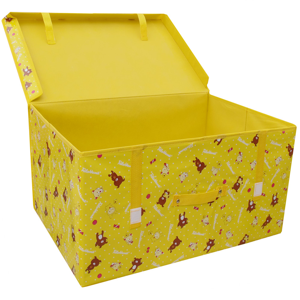 Non woven storage box for clothes and quilts