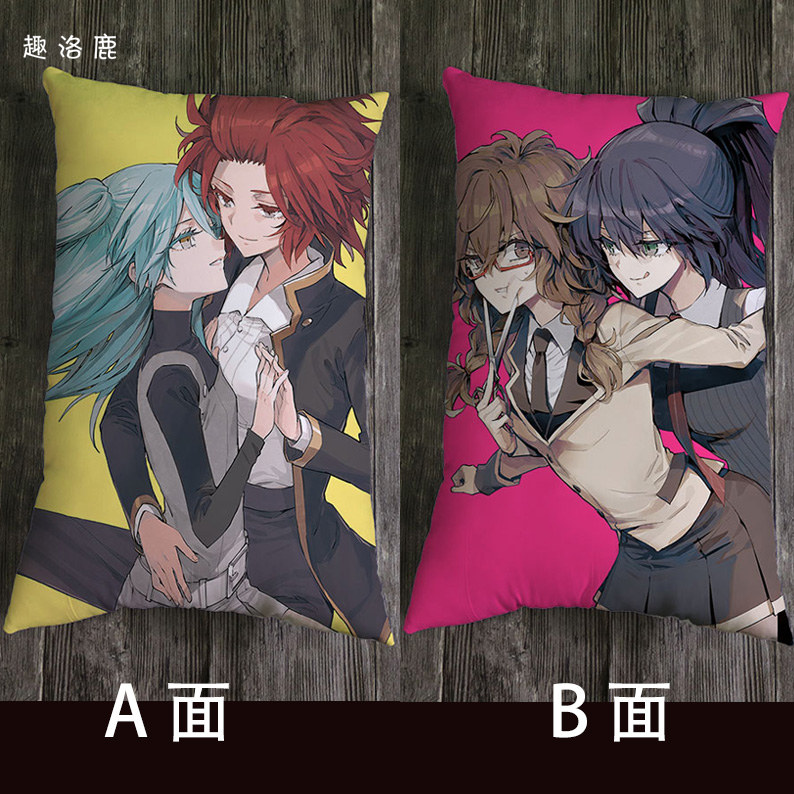 Mystery of the devil ACG animation surrounding pillow sofa pillow half body pillow double sided printing lunch pillow