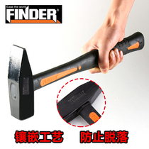 Discovery tool Fitter Hammer fiber handle electrician hammer flat hammer hammer small hammer 500g