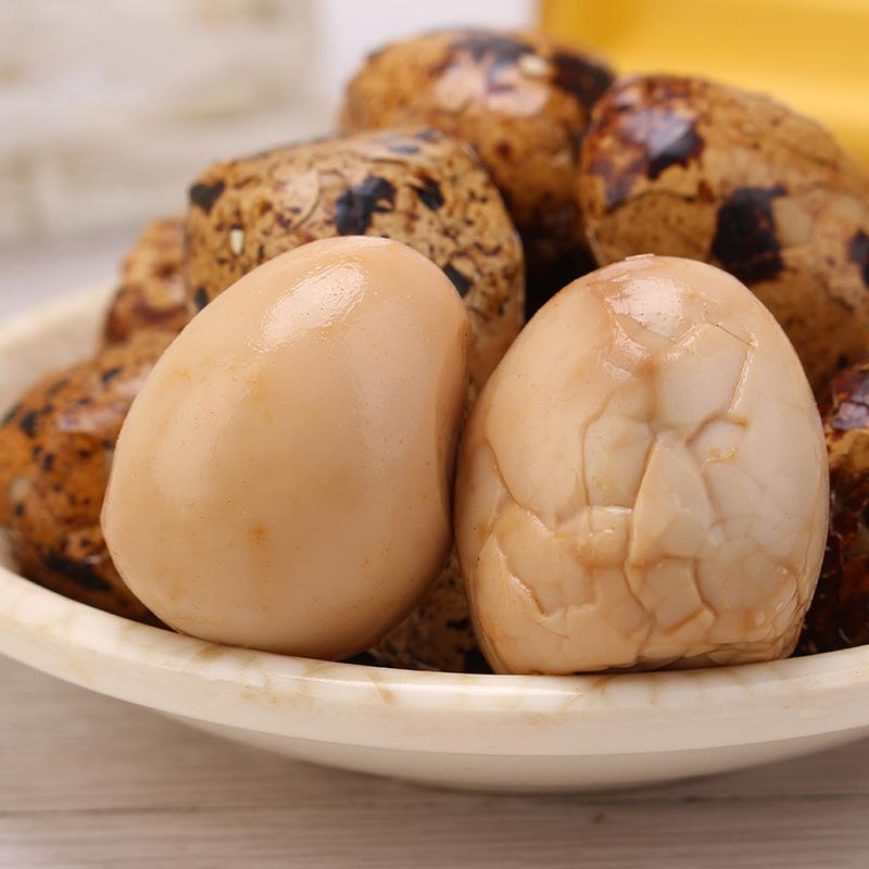 卤鹌鹑蛋卤蛋卤味五香5袋20枚特惠装蛋类即食休闲零食小吃真空装