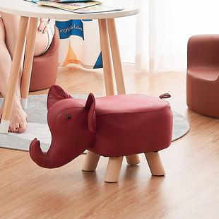 儿童卡通凳子幼儿园儿童凳桌椅坐椅小板凳婴儿凳皮革椅子宝宝凳子