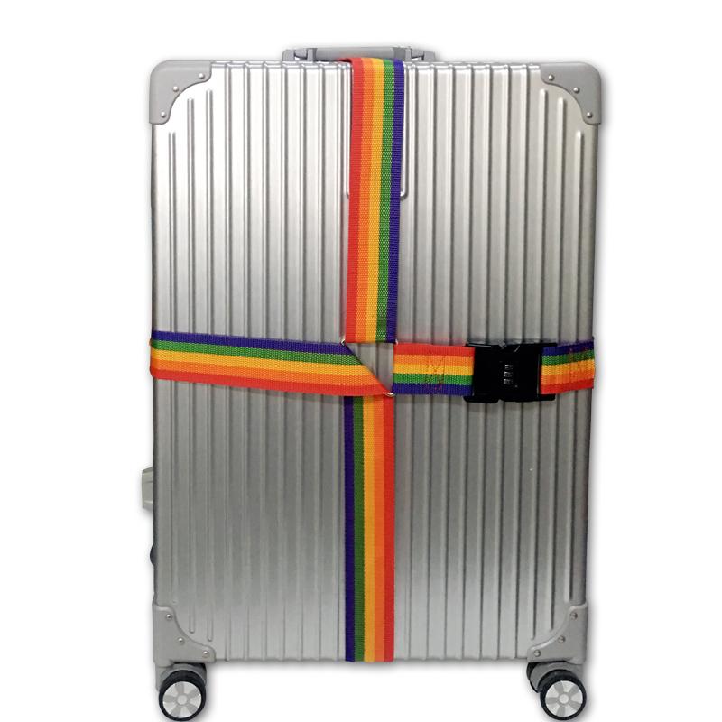 豆儿彩色打包带 拉杆箱打包带 行李箱旅行箱捆箱带
