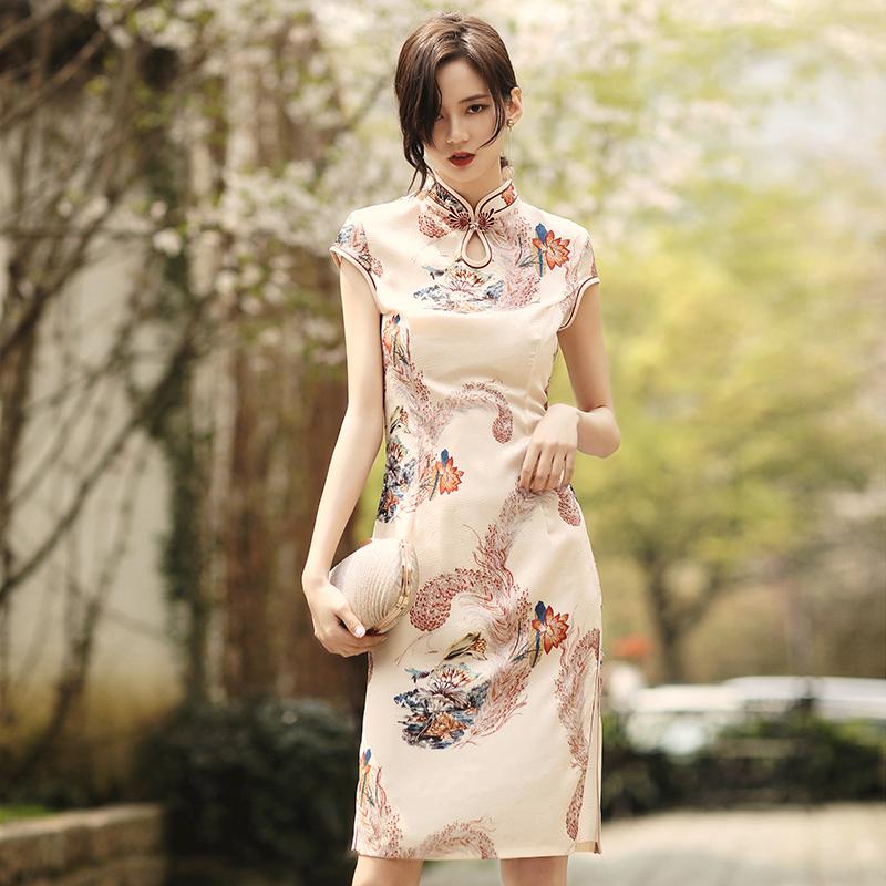 年轻款少女日常改良版新式秋连衣裙11-30新券