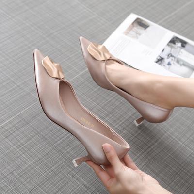 单鞋百搭简约用后评价
