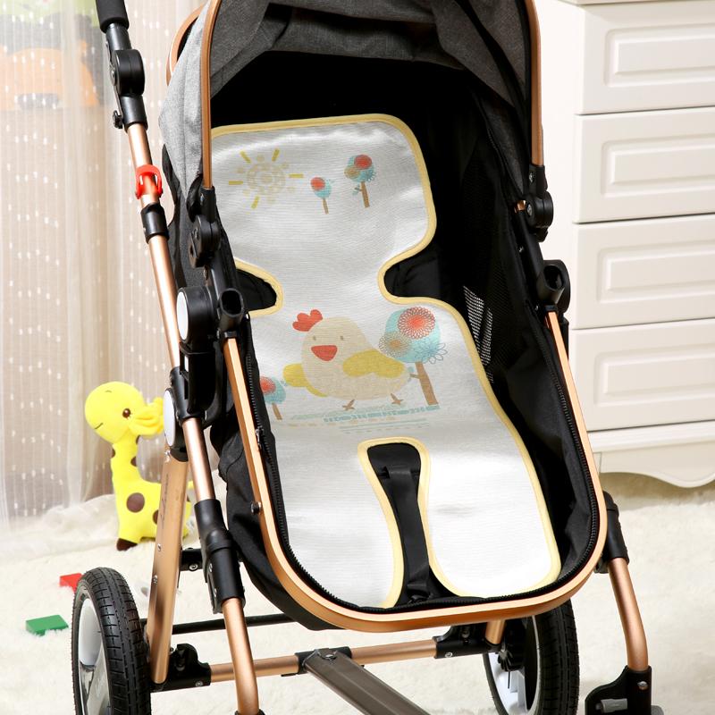 嬰兒推車席 兒童 推車涼席子座椅墊  寶寶手推車涼席 冰絲