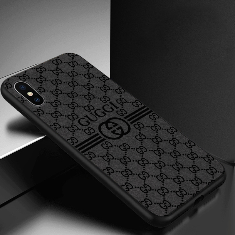 苹果x xs max手机壳 iphone6 6s保护 苹果7 苹果8 plus硅胶套 xr皮质 压印 全包软边防摔男女款潮牌欧美大气