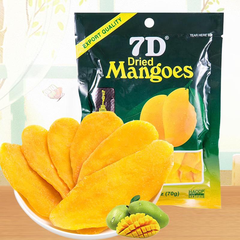 菲律宾进口道吉草7D芒果干蜜饯干办公室零食果水果干小吃休闲零食图片