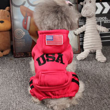 Dog clothes Teddy's four-legged clothes are thicker than bear puppies'Pets' clothes in spring and summer. Small dog Chihuahua