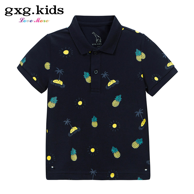 gxg kids男童純棉polo衫
