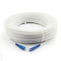 Single-mode fiber jumper SC-SC household indoor Extension Cable 1-Core 2 steel wire network jumper optical brazing fiber tail fiber