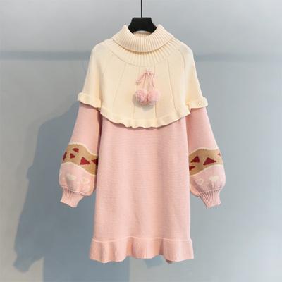 长款灯笼袖毛衣裙哪个好