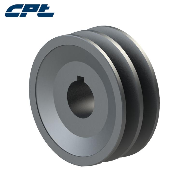 CPT США стандартный Шкив 2AK32-1 Стержень с двумя отверстиями Треугольный чугунный шкив
