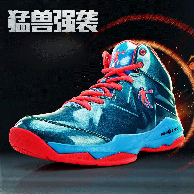 乔丹篮球鞋男鞋2018夏季新款运动鞋男防滑耐磨缓震篮球鞋飞人战靴