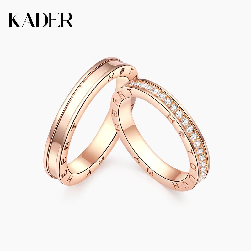 KADER 纯银戒指女食指日韩潮人简约原创个性小众设计网红送女友