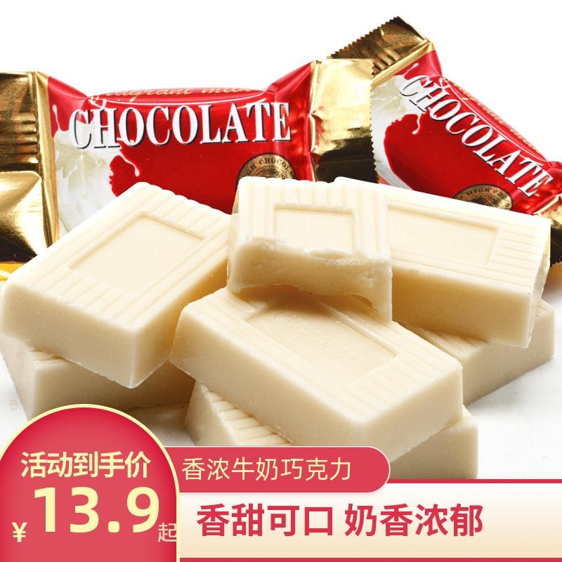 Yifu Xiangnong milk white chocolate 500g wedding candy leisure snacks mixed bulk