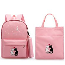 Backpack Japanese schoolbag girl wear-resistant suit children schoolbag girl primary school student large capacity stationery girl super light