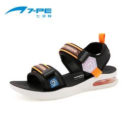 七波辉迷彩男童凉鞋夏新款儿童鞋中童学生沙滩鞋软底潮牌儿童凉鞋