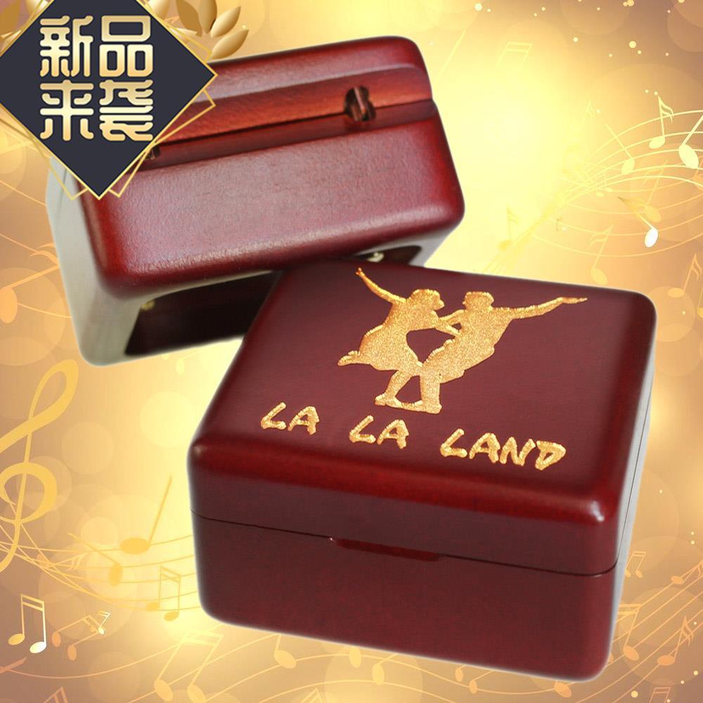 爱乐之城音乐盒lalaland周边发条八音盒la la land电影主题曲礼物