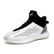AJ men's shoes spring 2020 new summer high top shoes fashion shoes all kinds of basketball fly woven Sneakers Men's shoes men's shoes
