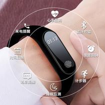 智能手表女学生儿童糖利色小清新腕表小孩led触屏运动手环电子表