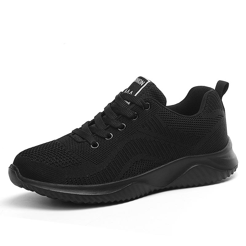 回力女装运动波鞋学生韩版2021年新款黑色春夏季球鞋女士妈妈布鞋