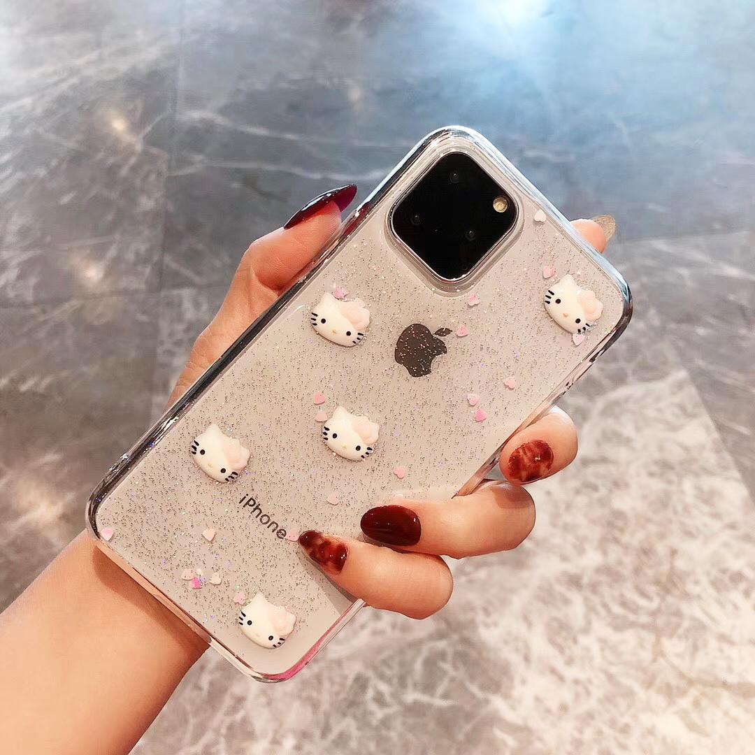 苹果11手机壳卡通适用iPhonexr硅胶xsmax防摔7plus软8套6s可爱x女