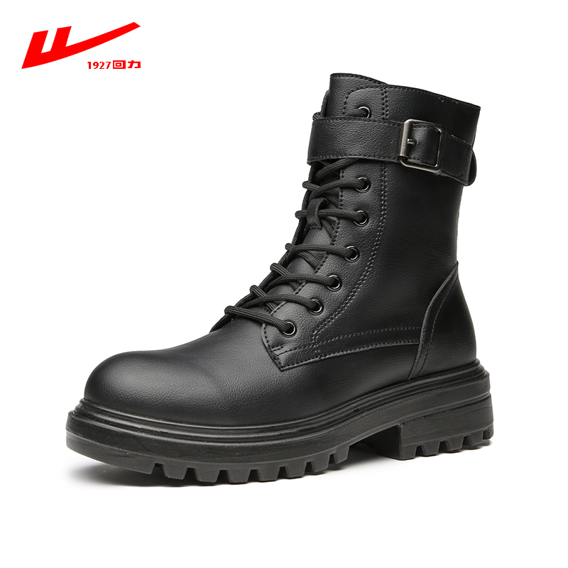 Pull back Martin boots women's autumn 2020 new British style short boots tide ins spring and autumn single boots all-match female boots