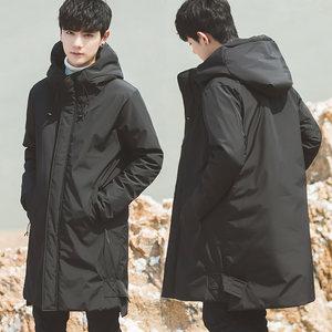 加厚2019冬季装新款韩版修身棉衣棉服袄子男士中长款外套潮流帅气