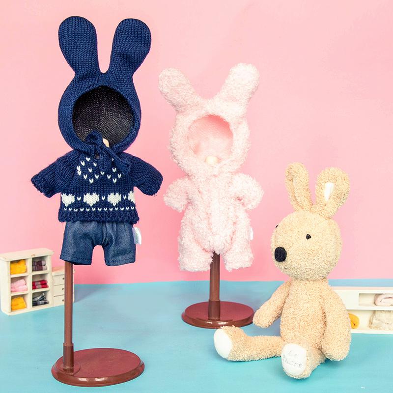 正版砂糖兔衣服SD/BJD可替換娃娃兒童毛絨玩具小兔子加工定製公仔