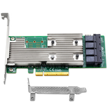 New Unicaca AS3224-16i 9305-16i 16-Port HBA hard drive expansion card supports 10t