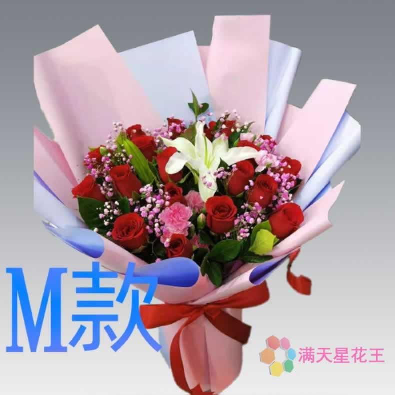 Birthday visit carnation Henan Luoyang florist send flowers
