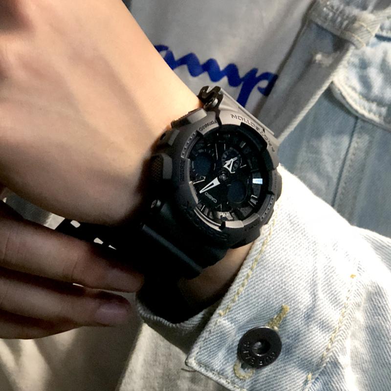 casio g-shock限量黑复古运动手表(非品牌)