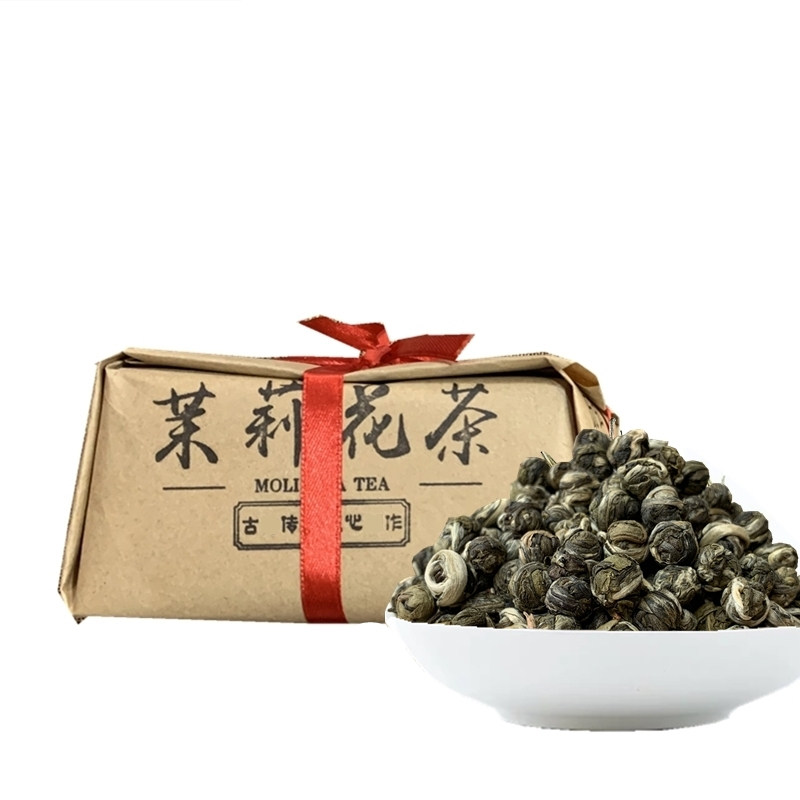 Jasmine tea jasmine Dragon Ball Hydrangea tea bulk new tea bulk green tea 250g