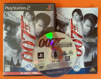 索尼 PS2 James Bond 007 Everything or Nothing AM56
