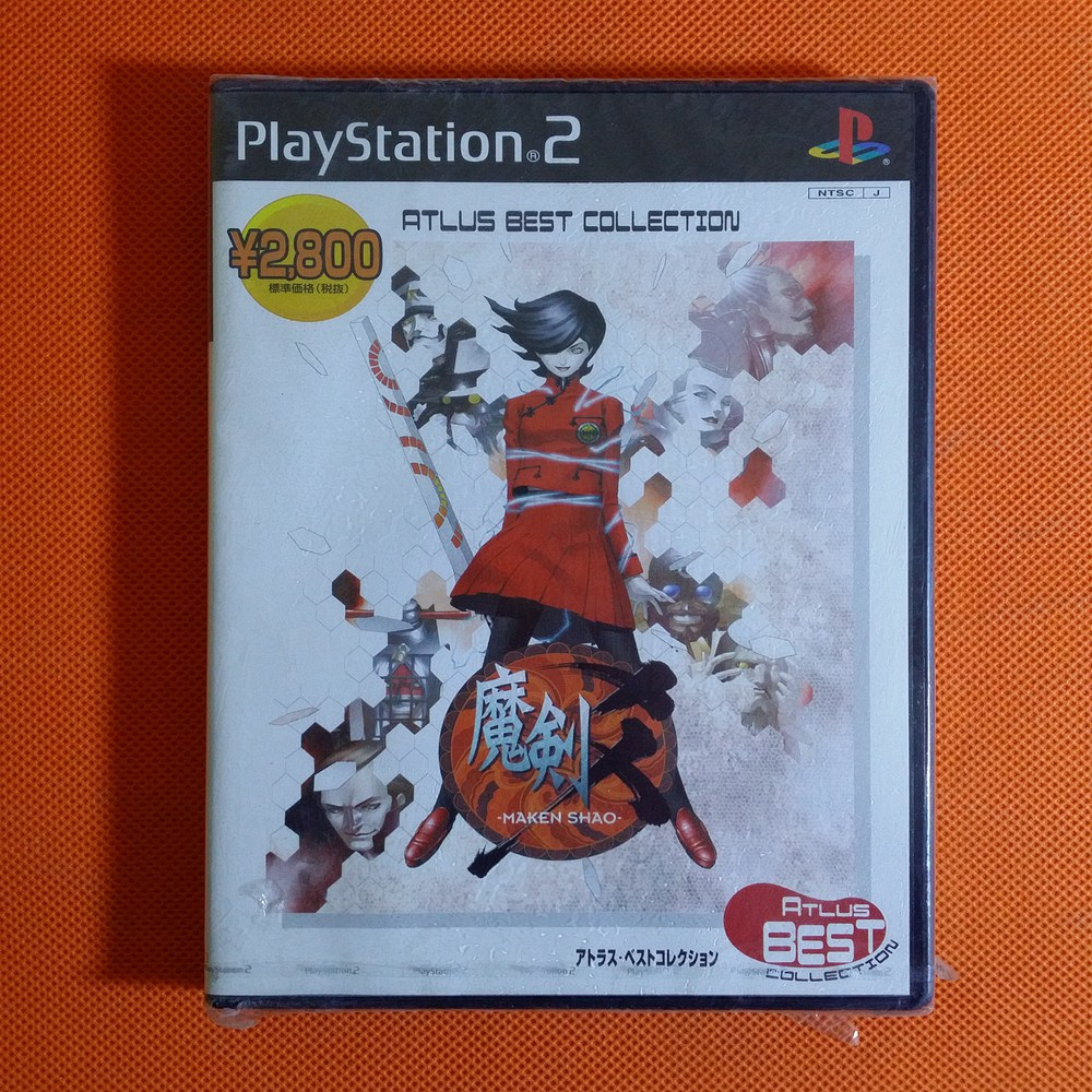 SONY PLAYSTATION2 PS2 全新品 魔剑爻 魔��爻 Maken Shao AM54