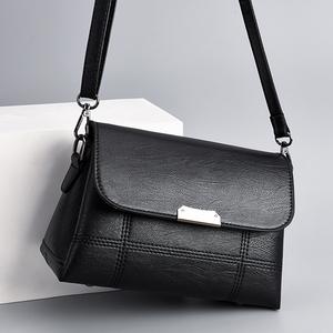 女包妈妈包2020新款包包中年女士时尚百搭大容量单肩包斜挎包小包