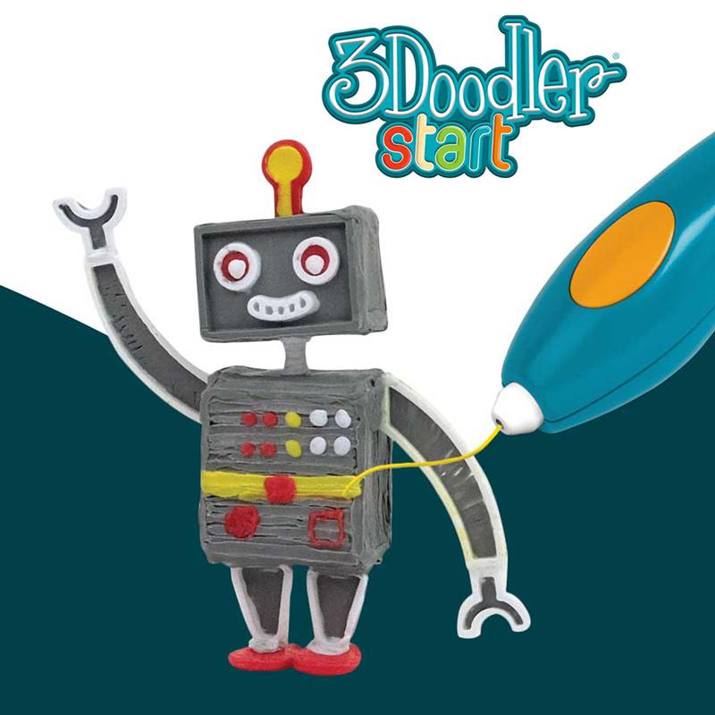 Сша 3Doodler Start 3D трехмерный щетка граффити печать карандаш kid ребенок студент безопасность издание