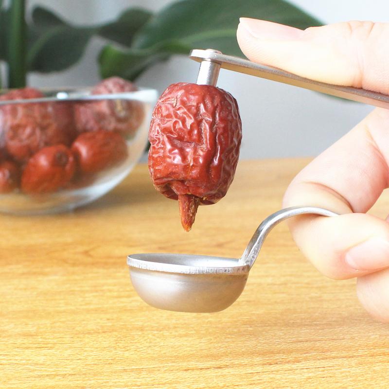 Домой 304 нержавеющей стали красный мармелад идти ядерный устройство инструмент кухня вишневый мармелад сухой привлечь взять ядро устройство фрукты идти семена устройство