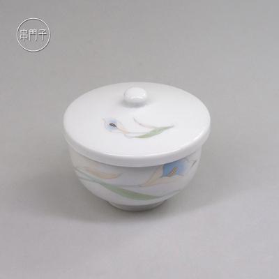 现货日本海淘陶瓷盖碗茶杯日式茶具品茗杯主人杯串门子