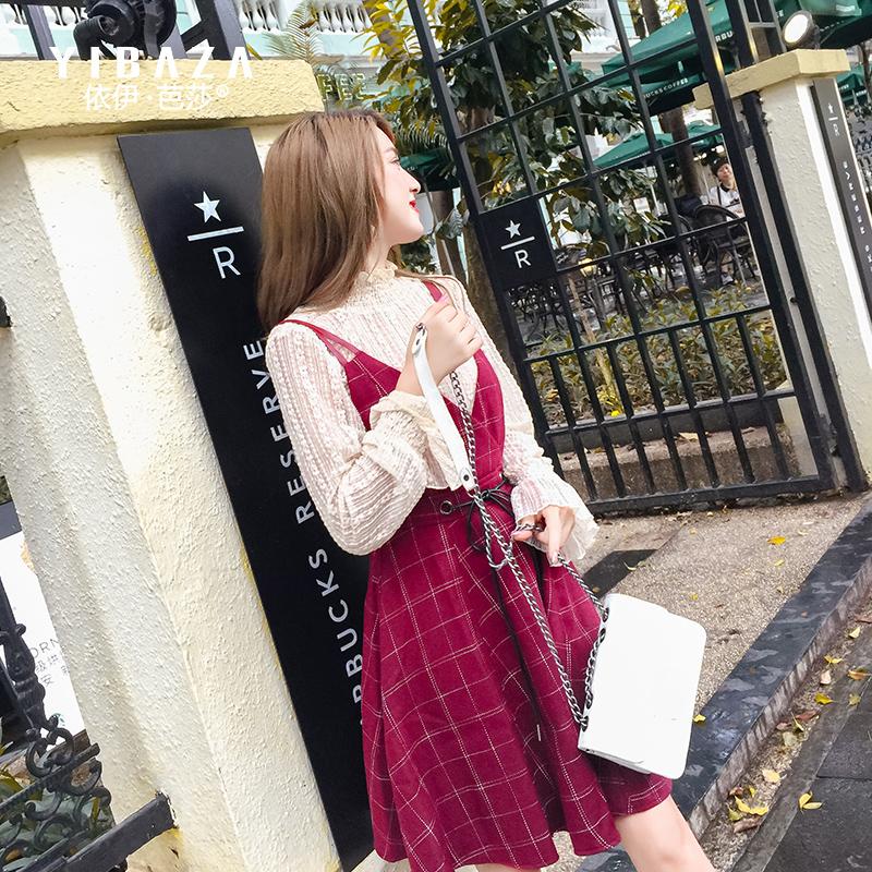 蕾丝打底衫长袖早秋2018新款小衫女甜美小清新纯色雪纺衫上衣女装