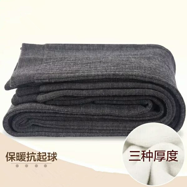 Winter mens cashmere pants womens knitted wool warm cotton pants thickened wool pants slim fit cashmere pants mens pants